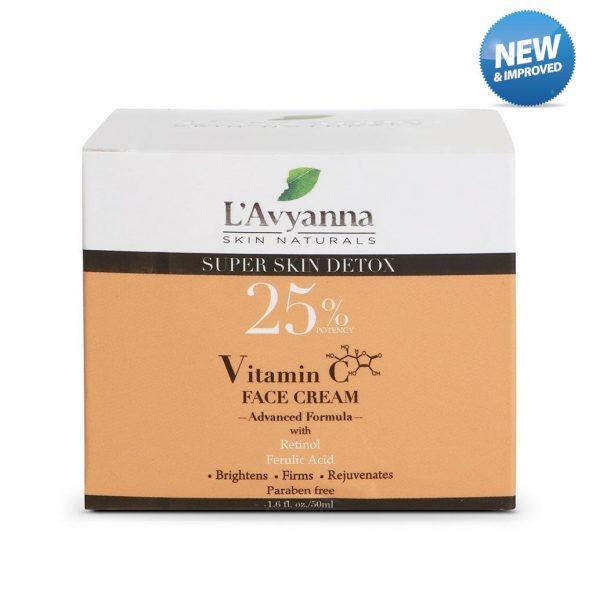L'Avyanna Skin Naturals - Vitamin C Face Cream - 25% Potency